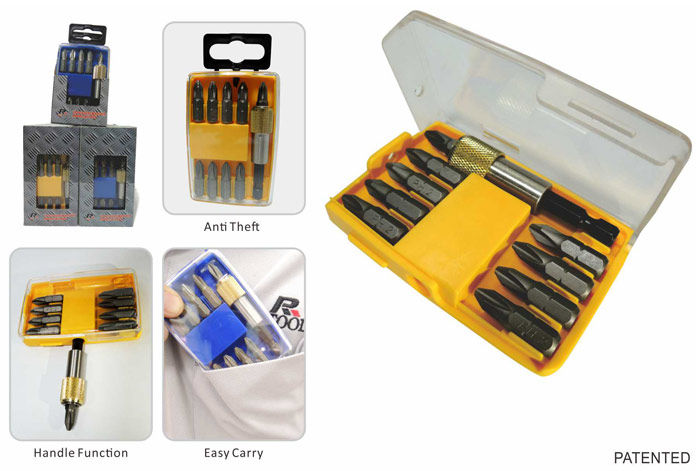 10 pcs Handle Bit Set